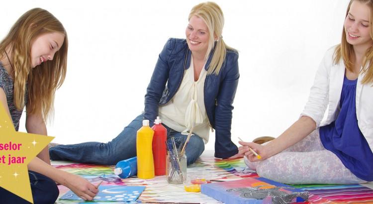 Fijke Willemse begeleid onzekere kinderen met faalangst.